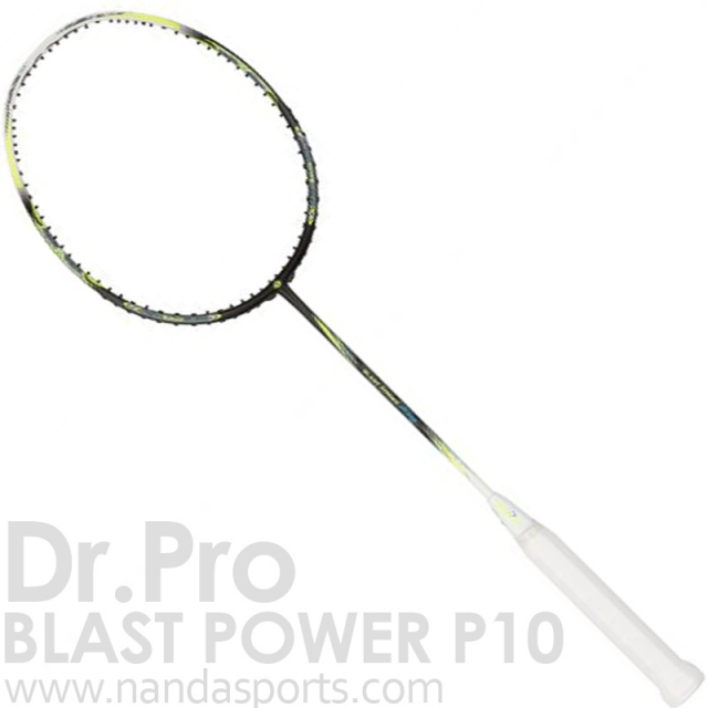 Dr.Pro Blast Power P10 / Matte Black 羽球拍 黑